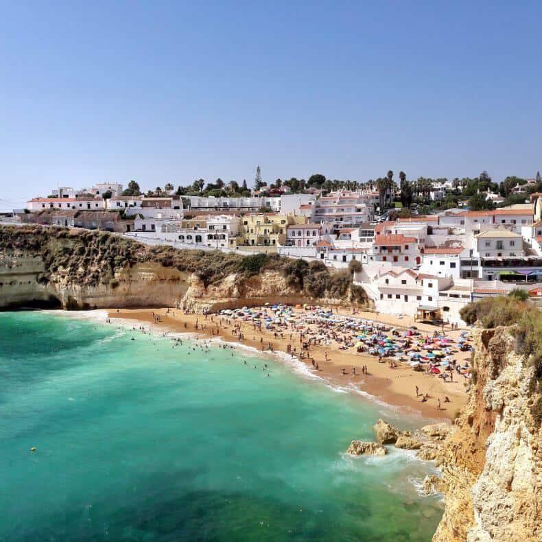 como visitar o Algarve
