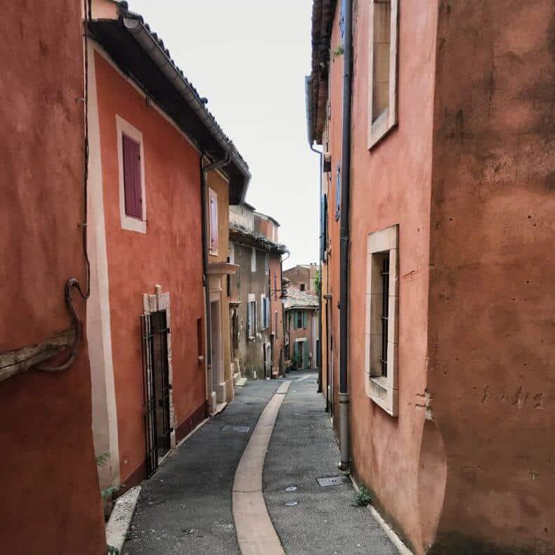 um dia em Roussillon