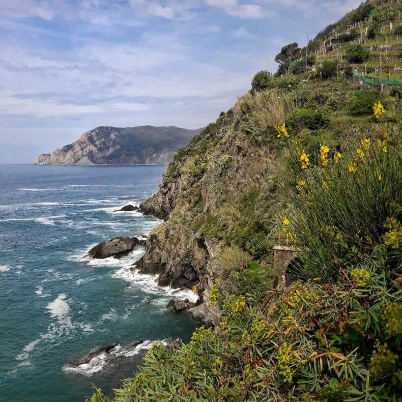 trilhas das Cinque Terre