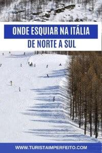 onde esquiar na Itália