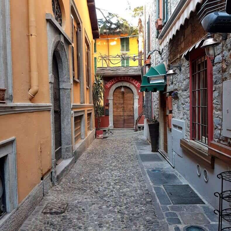 centro histórico de Bellagio
