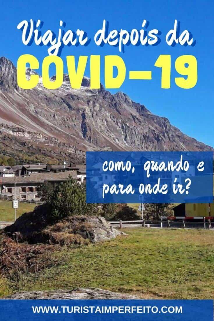Como viajar depois da Covid-19