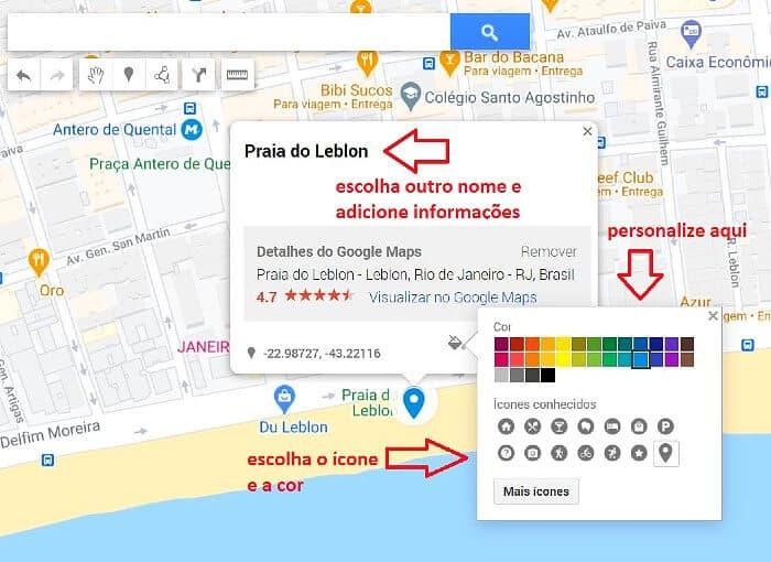 roteiros de viagem com Google My Maps