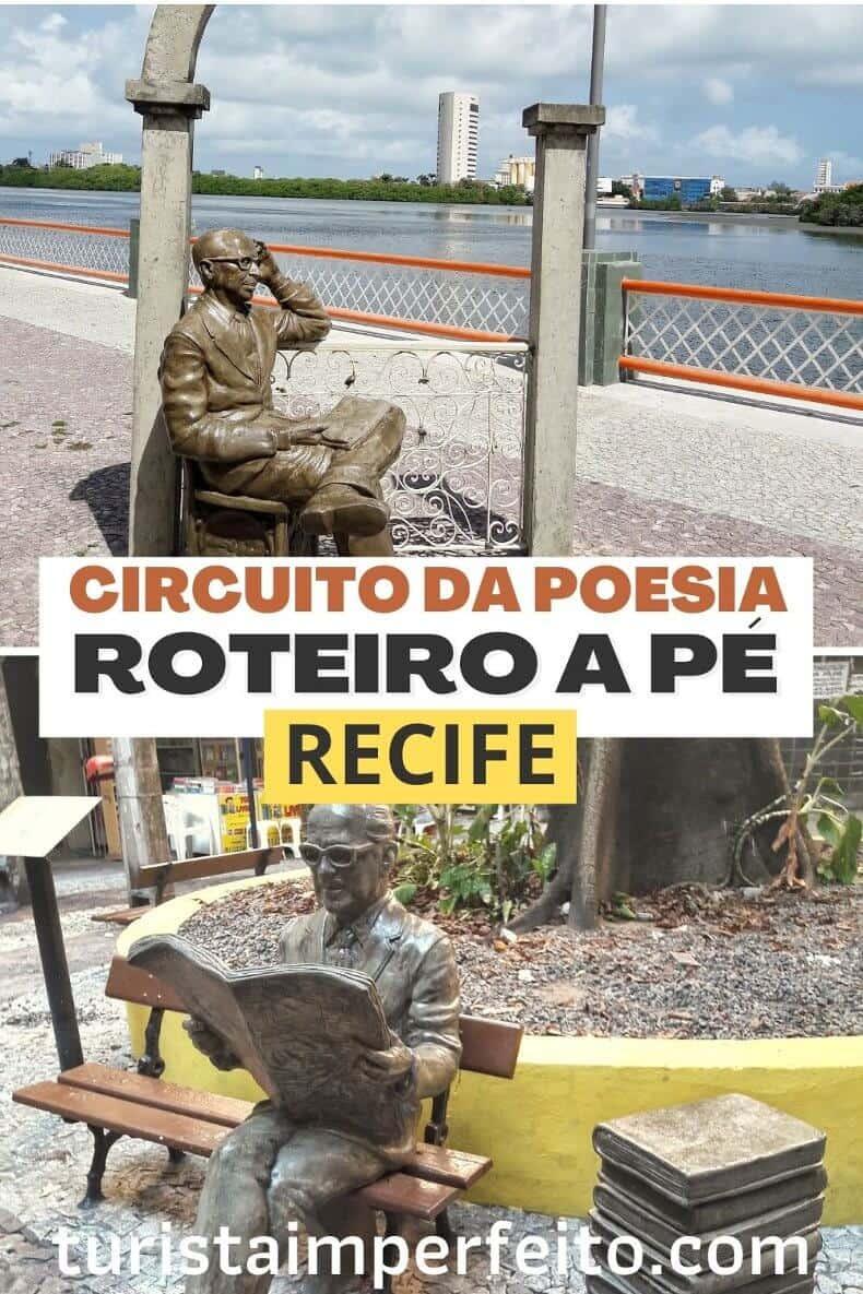 circuito da poesia em Recife